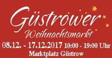 Güstrower Weihnachtsmarkt 2017